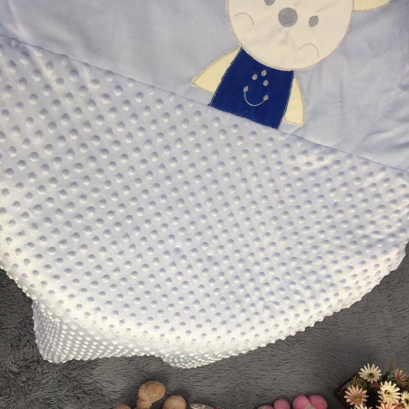 可爱卡通小熊图案儿童涤纶毯子毛毯 春秋盖毯空调房盖毯 厂家直销