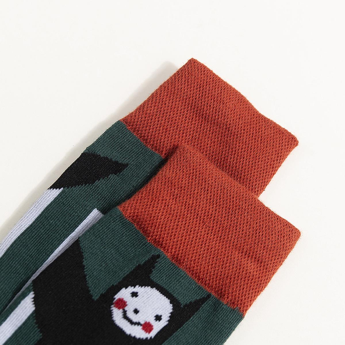 Personajes de dibujos animados en calcetines de tubo calcetines de algodón hombres y mujeres calcetines de dibujos animados al por mayor de moda NHZG177917