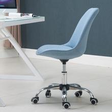 电脑椅家用现代简约懒人时尚书桌办公升降转滑轮靠背座学生小椅子