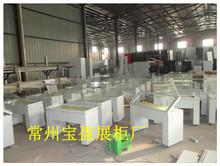 南京合肥博物展柜柜台定制 博物馆展示柜制作厂家 铁艺 钢制柜台