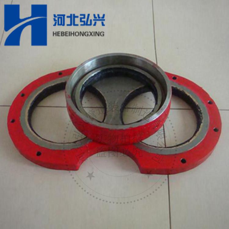 厂家保证质量230 260耐磨眼睛板切割环 三一中联徐工泵车眼镜板