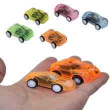迷你透明回力車兒童玩具車迷你回力小汽車塑料玩具車地攤熱賣貨源