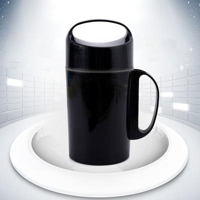 厂家保温塑料壶模具加工 带手柄保温杯塑料产品来样定制注塑开模