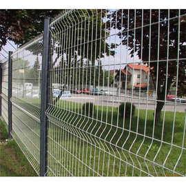 三角折弯护栏网围墙专用篱笆网桃形柱护栏网高档小区围栏