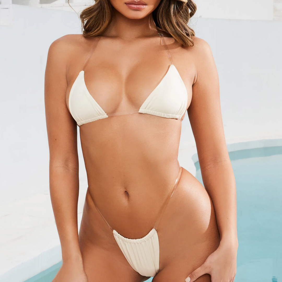 New invisible belt hot sale solid color ladies swimsuit wholesale nihaojewelry NHZO243835