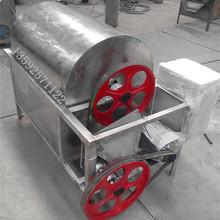不锈钢炒料机 花生芝麻炒货烘干设备电加热滚筒炒锅