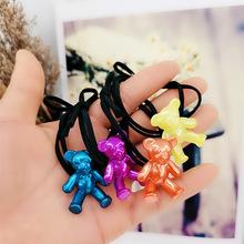 厂家直销韩版新款女式头绳蝴蝶结弹力打结扎头皮筋马尾发圈头饰品