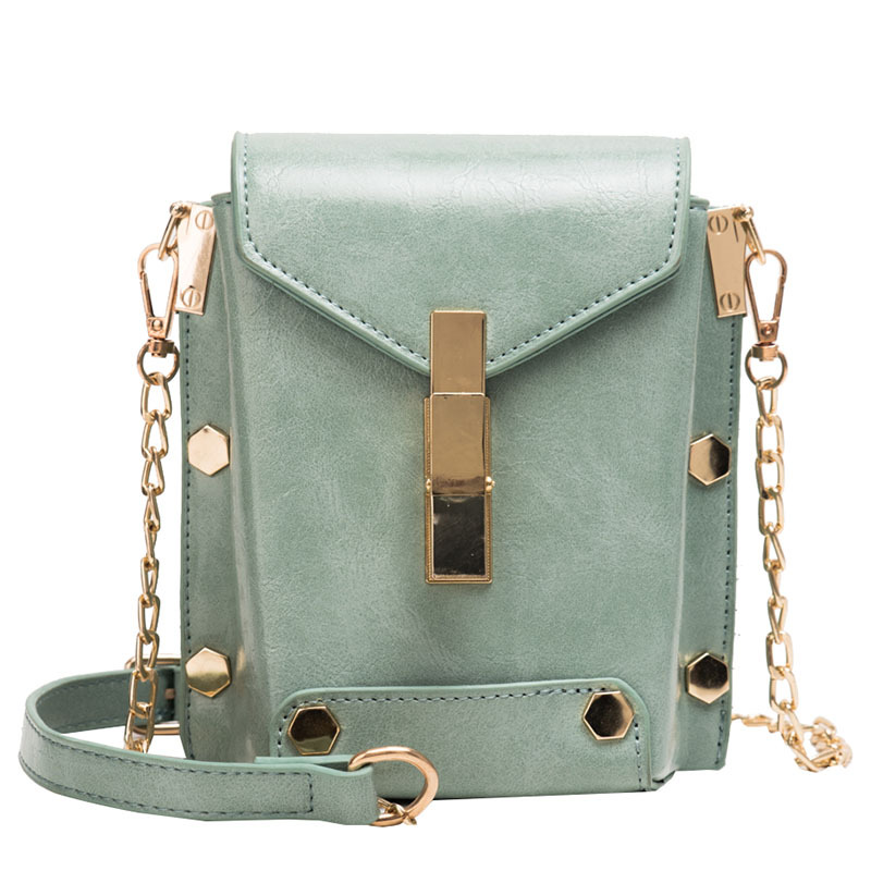 Spring And Summer Small Bags Ladies 2019 New Wave Korean Version Of The Fashion Wild Simple Simple Ins Chain Shoulder Messenger Bag