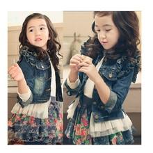 女童牛仔外套春装2019新款韩版儿童洋气童装女孩?#34892;?#31461;修身上衣潮