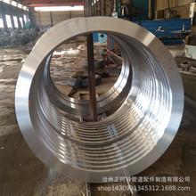 工厂直销 卷制法兰 大法兰 碳钢材质 德标DIN86044大口径平焊法兰