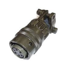 安费诺Amphenol6位置圆形连接器插头PT06A-10-6S(SR)母型插口