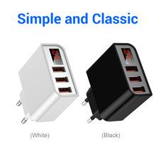 5V3.4A数显电源适配器美规UL智能充电器头3C数码欧规手机快充头线