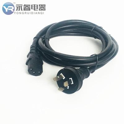厂家直销电源线  澳大利亚插头线 澳大利亚标准插头电源线 电线