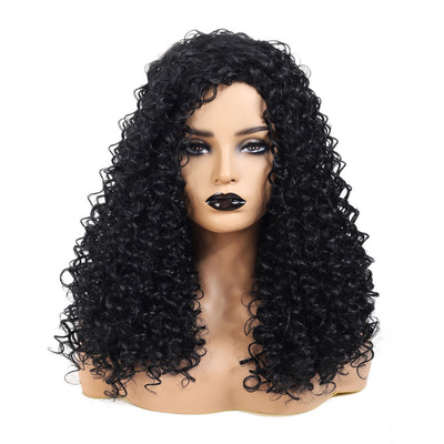 Curly Hair Wigs Parrucche per capelli ricci For wigs, synthetic wigs ladies, short hair and small curly hair
