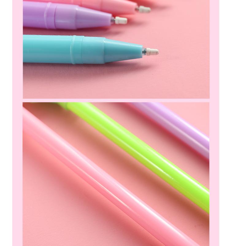 Dibujos animados creativos gel pen 10 palos pluma NHHE141310