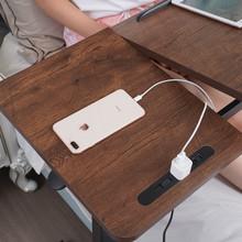简易升降笔记本电脑床边桌可移动桌子家用懒人床上沙发简约小书桌