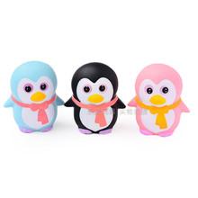 Squishy企鹅崽子 PU慢回弹小企鹅玩具 热销仿真企鹅减压玩具跨境