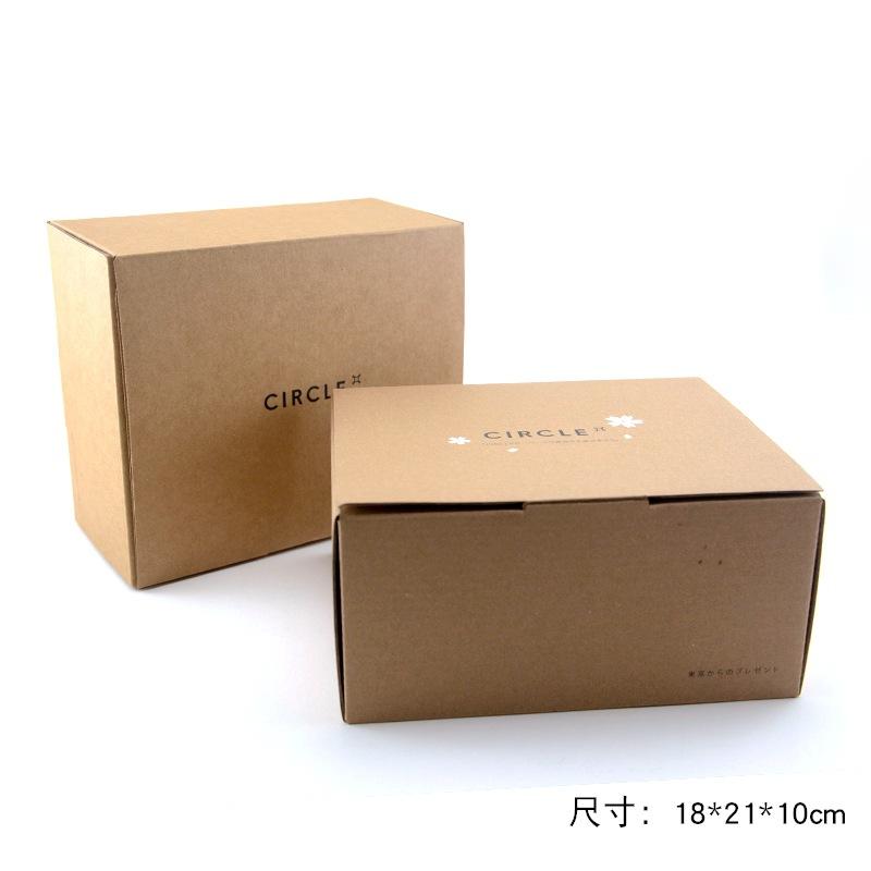 定做美国牛卡纸瓦楞电商专业快递盒  珠宝首饰化妆品牛皮纸箱定做