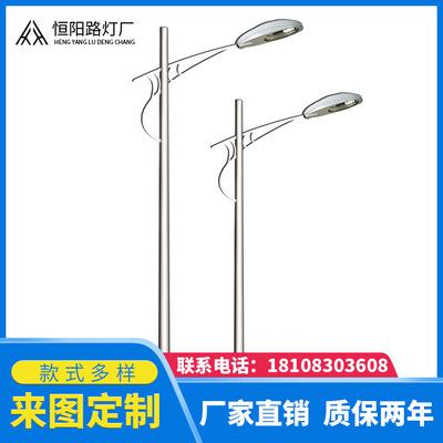 12米路灯杆LED路灯重庆道路灯杆生产厂家路灯灯杆杆led灯罩