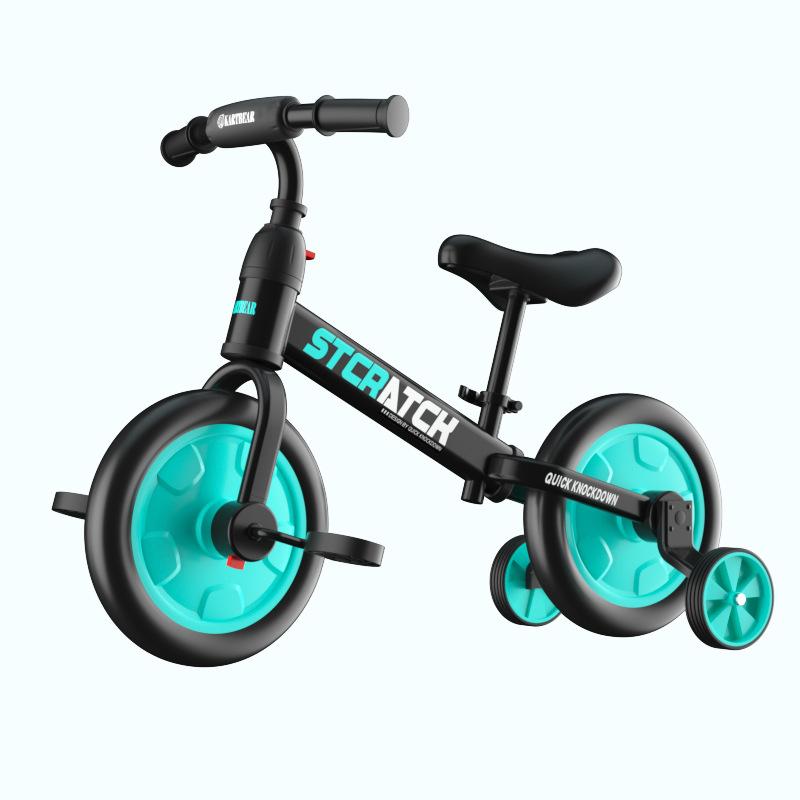 妈妈咪呀儿童平衡车无脚踏宝宝自行车1-3-6岁滑步车溜溜车滑行车