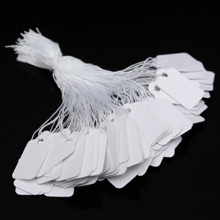 Jewelry price tag paper paper price tag price tag handwritten blank price money tag 100 per pack