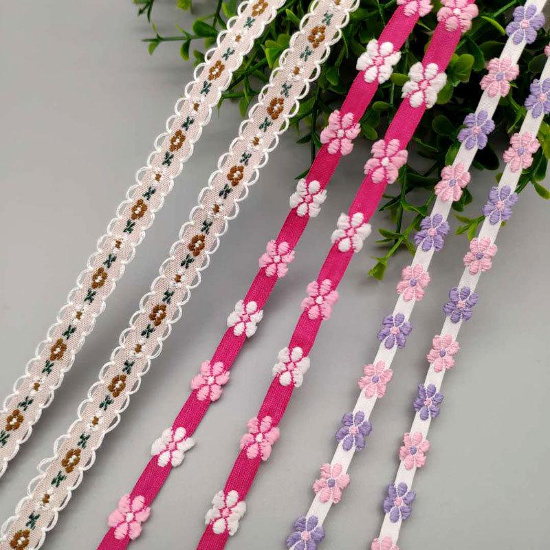电脑提花织带厂家直销民族风彩色提花织带服装服饰涤纶织带批发