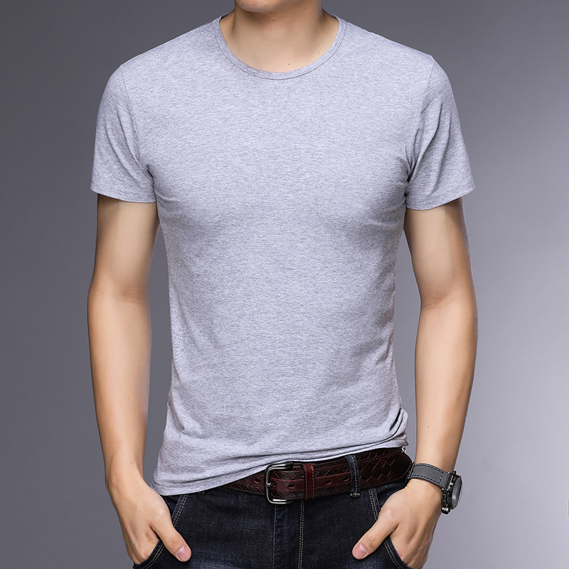 T-shirt homme - Col rond - Ref 3409000 Image 14