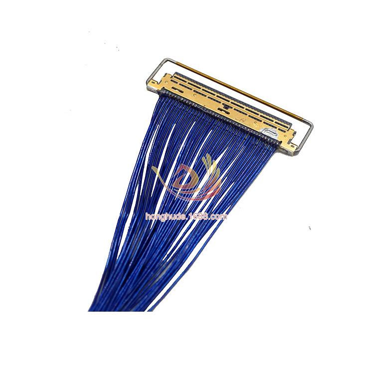 液晶屏用极细同轴线定制 jae ipex molex多种型号连接器可选 长度