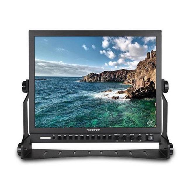 视瑞特15寸 1024x768 金属外壳高清3G/HD-SDI广播级液晶监视器