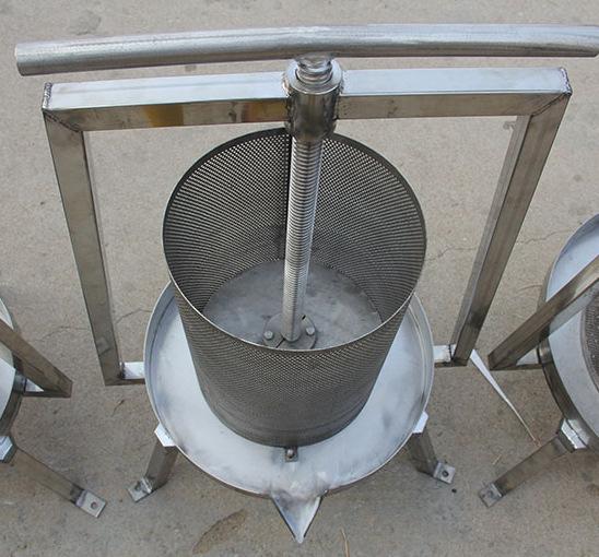 1892正品家庭自酿葡萄酒设备工具榨汁器压榨机压汁皮渣分离葡萄