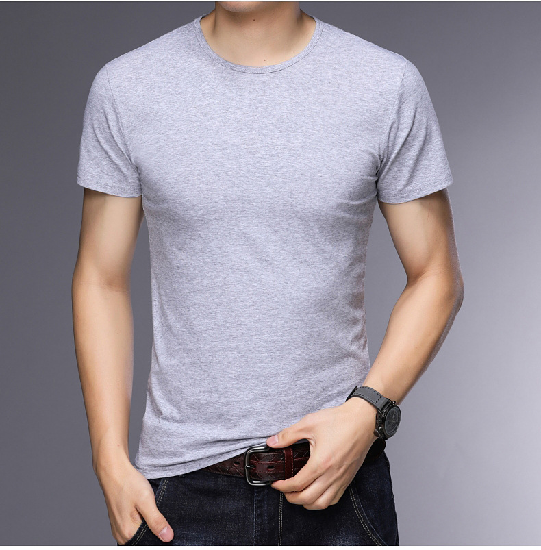 T-shirt homme - Col rond - Ref 3409000 Image 27