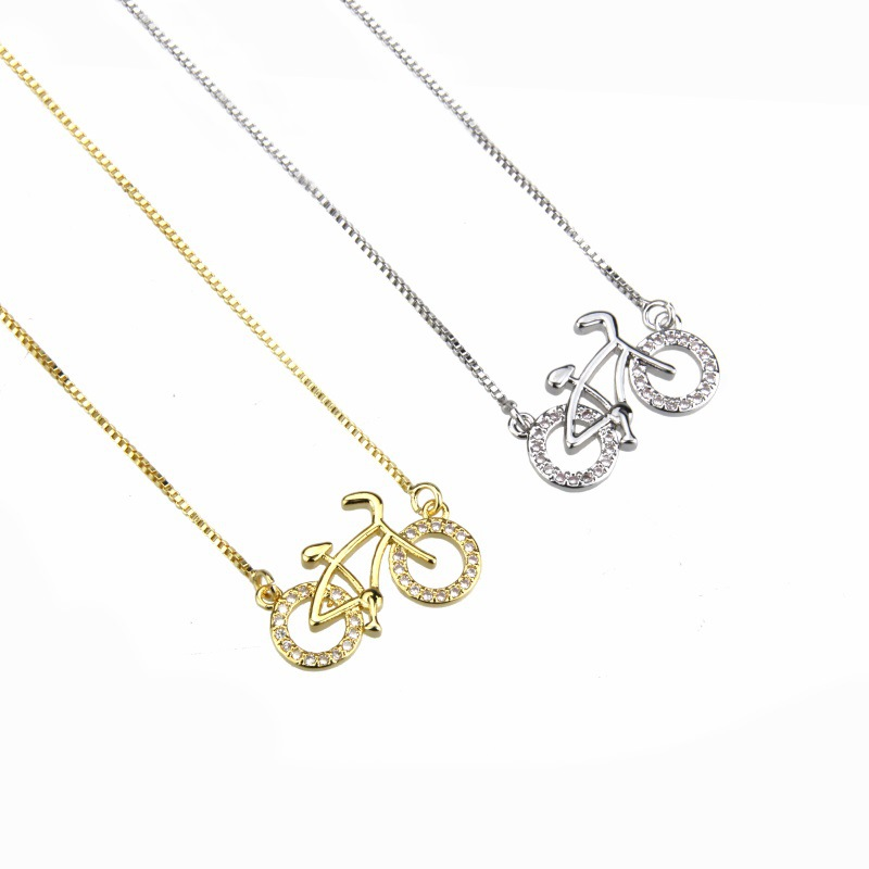 Copper Fashion Geometric necklace  (Alloy plating)  Fine Jewelry NHBP0342-Alloy-plating
