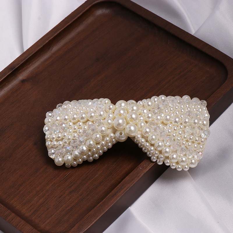 Womens Bow Set Beads Beads Hair Accessories JJ190505120190