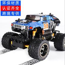 跨境爆款PVC遥控玩具车 rc大脚2.4G高速越野车 竞速赛车厂家直销