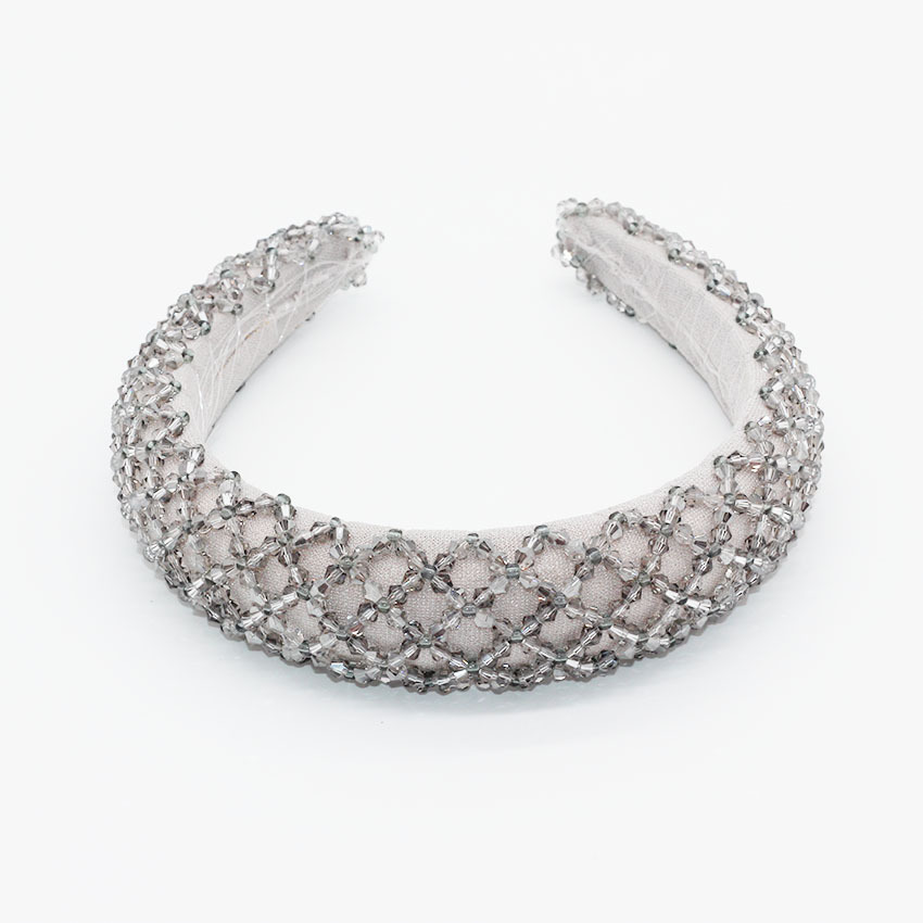 New fashion temperament mesh crystal multicolor personality star with the same hair hoop prom hair hoop NHWJ183727