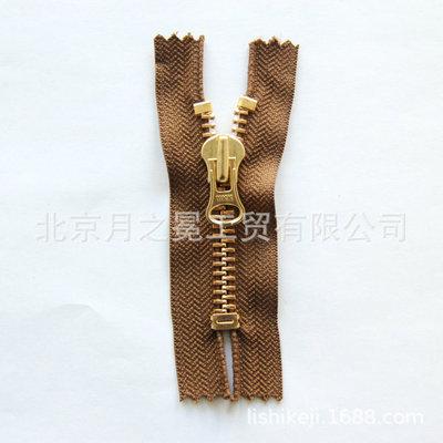 厂家推荐ykk双头拉链 YKK服装门襟拉链 YKK纹防爆拉链