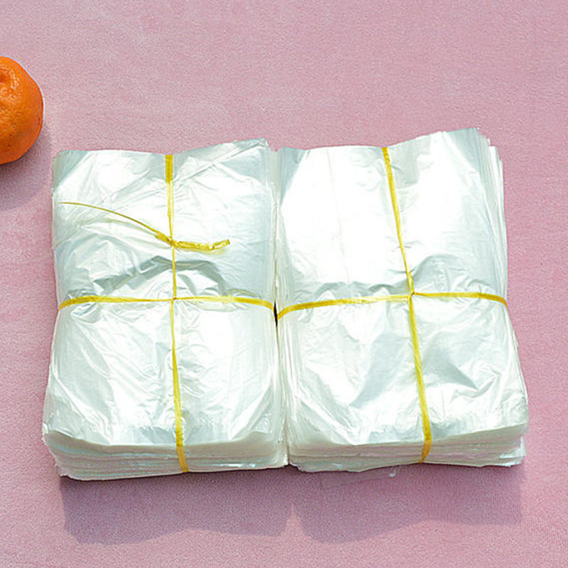8*12小號透明塑料平口內膜包裝袋低壓PE薄膜保鮮袋批發1000捆定制