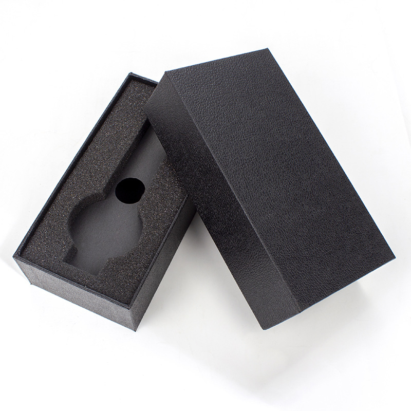 Hongc A45 Gift Watch Box Long Black Box Custom Branding Printed Logo