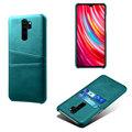 红米note8pro手机壳插卡保护套适用小牛纹Redmi Note8pro商务皮套