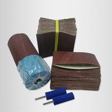 廠家直銷JB-5砂帶316*150海綿輪TJ113砂布筒拋光打磨氣鼓輪專用