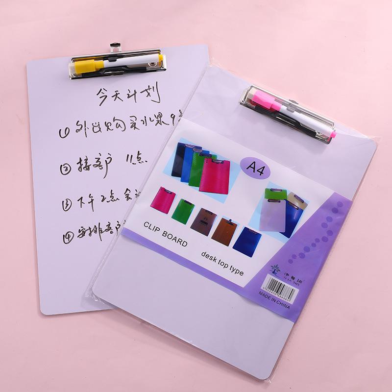 Bảng trắng A4 12 cm với khóa bảng trắng bút viết bảng sinh viên có thể xóa bảng vẽ văn phòng bảng trắng nhỏ để gửi bút bút