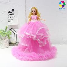 婚纱裙芭比洋娃娃儿童玩具礼品超市旅游景点批发礼盒套装