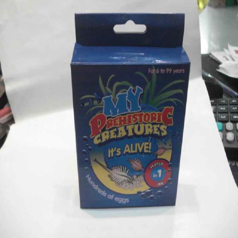 简装海精灵/鱼卵DIY养殖宠物密语 魔虾魔鱼种植长虾栽培玩具