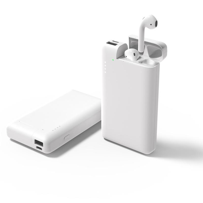 新款多功能二合一充电宝 新款大容量移动电源 TWS耳机手机二合一