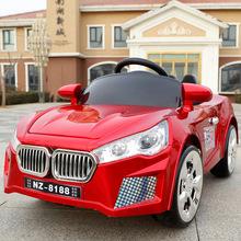 新款儿童电动车四轮双驱动遥控汽车男女宝宝充电可坐人小孩玩具车