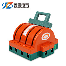 4P 100A雙投雙向倒順閘刀開關 雙電源轉換切換隔離三相四線電批發