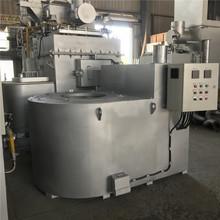 天然气坩埚熔铝炉 铝渣熔化炉 蓄热式烧嘴燃气工业炼铝炉500kg