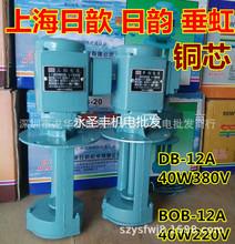 日歆日韵DB-12A三相电泵机床油泵40W循环冷却水泵DOB-12单相电泵