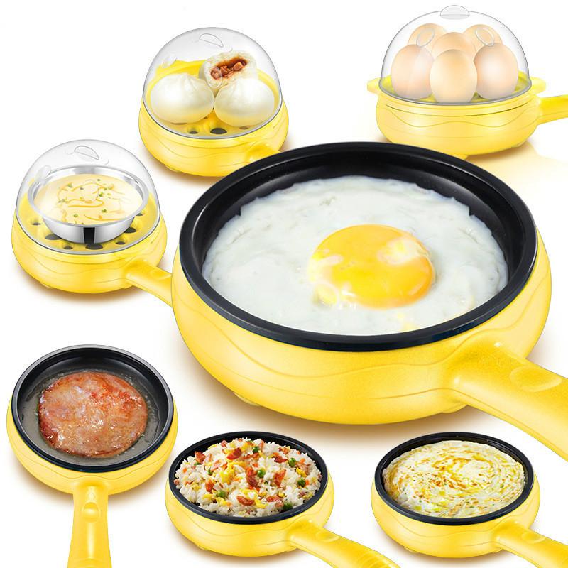 煎蛋锅插电自动断电神器不粘煎饼锅煮蛋煎蛋器迷你多功能家用小型