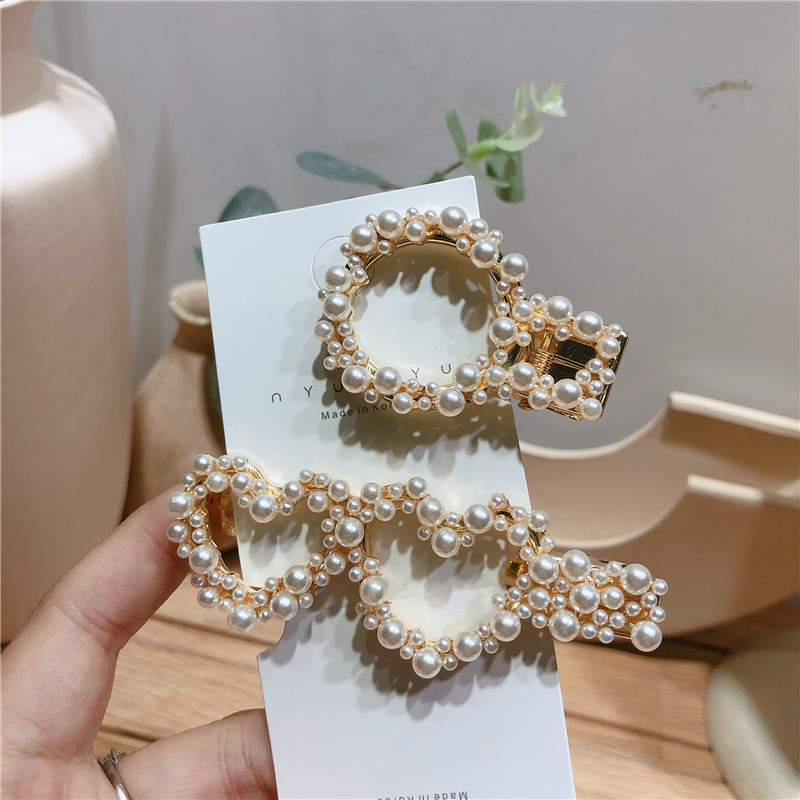 Beads Korea Geometric Hair accessories  (Section A)  Fashion Jewelry NHYQ0264-Section-A